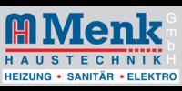 Kundenlogo Sanitärinstallation Menk Haustechnik