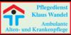Kundenlogo von Ambulante Alten- und Krankenpflege Wandel Klaus