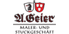Kundenlogo von Geier A. Maler und Stuckbetrieb
