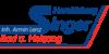 Kundenlogo von Singer Sanitär-Heizung