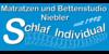 Kundenlogo von Schlaf Individual - Matratzen und Bettenstudio Niebler