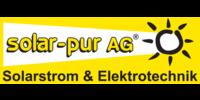 Kundenlogo Elektrotechnik solar-pur AG