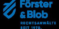 Kundenlogo Förster & Blob Rechtsanwälte