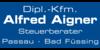 Kundenlogo von Aigner Alfred Dipl.-Kfm.