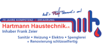 Kundenlogo Hartmann Haustechnik e.K. Inhaber Frank Zeier