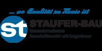 Kundenlogo Staufer-Bau GmbH