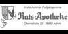Kundenlogo von Rats-Apotheke Irene Becker-Nachtweide