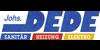 Kundenlogo von Dede Johannes GmbH Sanitär Heizung Elektro