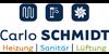 Kundenlogo von Carlo Schmidt Heizung - Sanitär