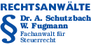 Kundenlogo Schutzbach Dr. u. Fugmann W.