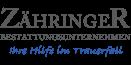 Kundenlogo Bestattungsunternehmen Zähringer