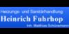 Kundenlogo von Heinrich Fuhrhop Inh. Matthias Schünemann