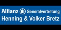 Kundenlogo Allianz Generalvertretung Henning & Volker Bretz OHG