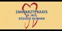 Kundenlogo Heimann, Rüdiger Dr. med. Zahnarzt