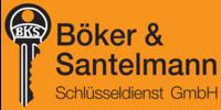 Kundenlogo Schlüssel Böker & Santelmannn Schlüsseldienst GmbH