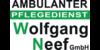 Kundenlogo von Ambulanter Pflegedienst Wolfgang Neef GmbH