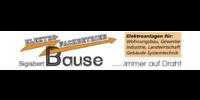 Kundenlogo Bause, Sigisbert Elektro-Fachbetrieb