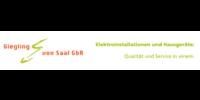 Kundenlogo Elektro Giegling & von Saal GbR