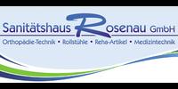 Kundenlogo Sanitätshaus Rosenau GmbH