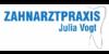 Kundenlogo von Zahnarztpraxis Julia Vogt