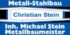 Kundenlogo von Metallbau-Stahlbau Christian Stein
