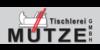 Kundenlogo von Tischlerei Mütze GmbH