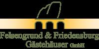 Kundenlogo Felsengrund & Friedensburg, Gästehäuser GmbH
