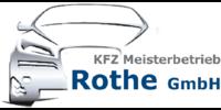Kundenlogo KFZ-Meisterbetrieb Rothe GmbH
