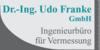 Kundenlogo von Dr.-Ing. Udo Franke GmbH, Ingenieurbüro für Vermessung