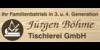 Kundenlogo von Jürgen Böhme Tischlerei GmbH