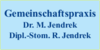 Kundenlogo von Jendrek M. Dr., Jendrek R.