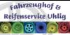 Kundenlogo von Fahrzeughof & Reifenservice Uhlig