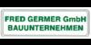 Kundenlogo von Fred Germer GmbH Bauunternehmen