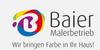 Kundenlogo von Baier Jens und Stefan GbR Malerfachbetrieb