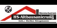 Kundenlogo HS Altbausanierung GmbH