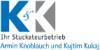 Kundenlogo von K & K Stuckateur OHG