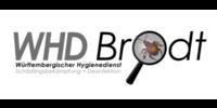 Kundenlogo Brodt WHD Schädlingsbekämpfung