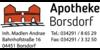 Kundenlogo von Apotheke Borsdorf Inh. Madlen Andrae