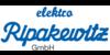 Kundenlogo von Ripakewitz Elektro GmbH Elektroinstallation