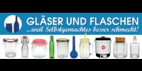 Kundenlogo Gläser und Flaschen