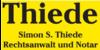 Kundenlogo von Thiede Simon S.