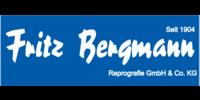 Kundenlogo Bergmann Fritz Copy-Shop Reprografischer Fachbetrieb