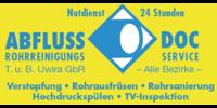 Kundenlogo ABFLUSS DOC Tom Uwira & Benjamin Uwira OHG Rohrreinigungsservice