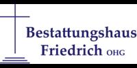 Kundenlogo Bestattungshaus Friedrich oHG