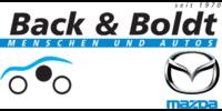 Kundenlogo MAZDA Autohaus Back & Boldt GmbH