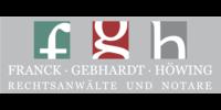 Kundenlogo Franck, Gebhardt, Höwing Rechtsanwälte und Notare