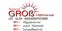 Kundenlogo Groß Roland & Söhne GmbH LÖT-GLÜH-ANWÄRMTECHNIK