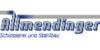 Kundenlogo von Allmendinger Bauschlosserei GmbH
