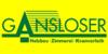 Kundenlogo von Gansloser Max Holzbau und Zimmerei