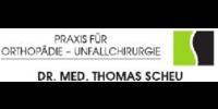 Kundenlogo Scheu Thomas Dr.med., FA für Orthopädie Unfallchirurgie, Sportmedizin, Chirotherapie